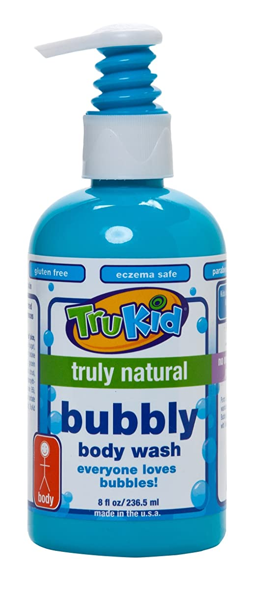 力強い財布ステーキTruKid, Bubbly Body Wash, 8 fl oz (236.5 ml)