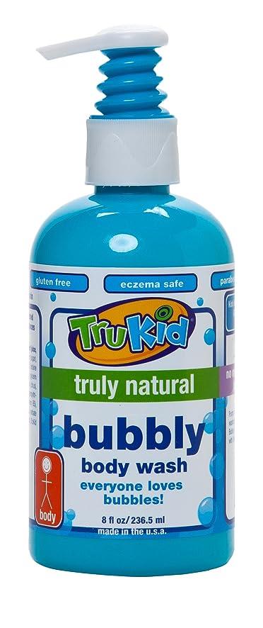 ズボン柔らかい足信者TruKid, Bubbly Body Wash, 8 fl oz (236.5 ml)