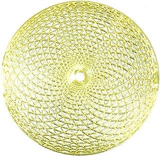 RELIGHT トーラス エナジー 金属製 ステッカー シール 金色 (1.5cm(6枚))