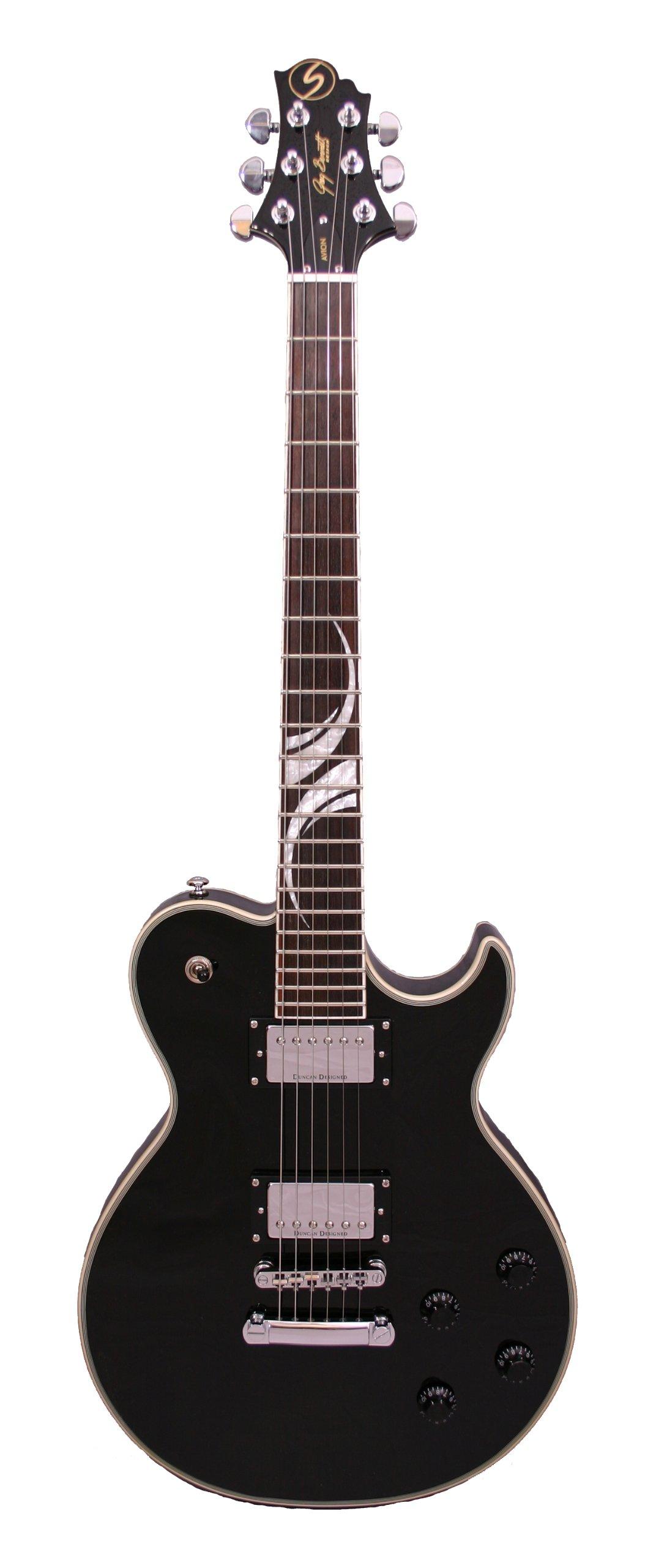 Cheap Samick Greg Bennett Design AV70 Electric Guitar Black Black Friday & Cyber Monday 2019