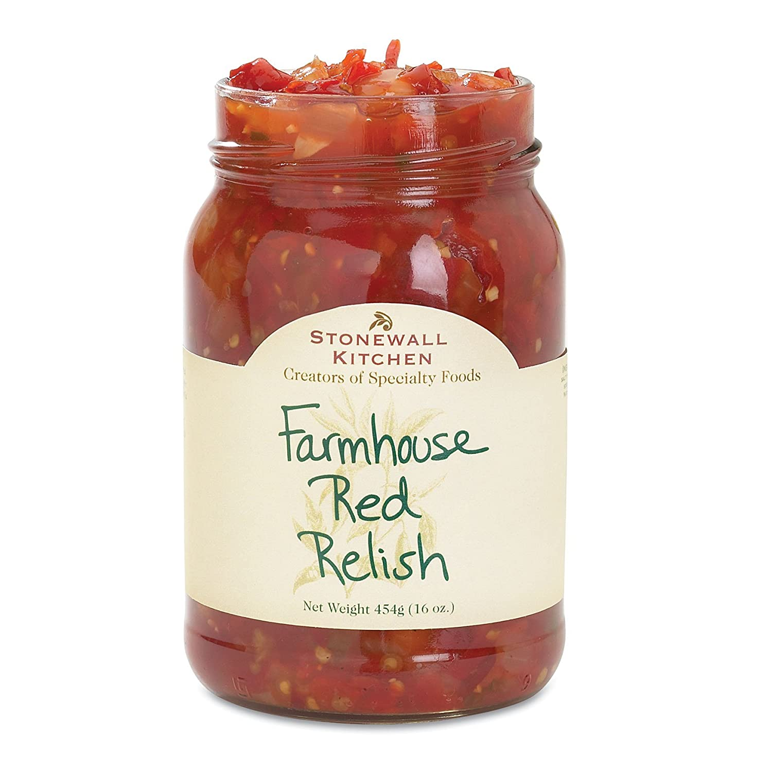 Stonewall Kitchen Farmhouse Red 16 Ounces Relish Super popular specialty store Ranking TOP13