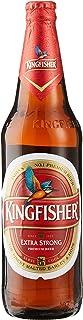 Kingfisher Premium Extra Strong Lager Beer Quart Bottle, 650ml