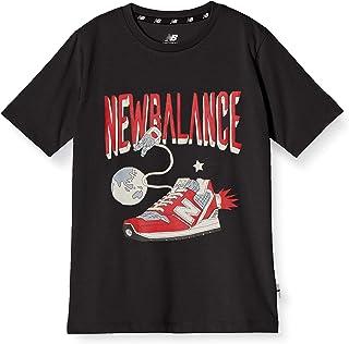 [ニューバランス] NB Character Tシャツ 吸汗速乾機能付き 加速力モチーフ キッズ JJTP1306