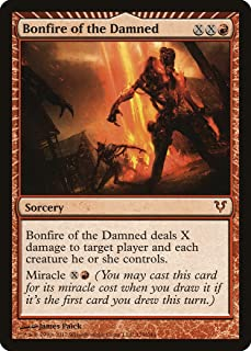 Magic: the Gathering - Bonfire of the Damned (129) - Avacyn Restored