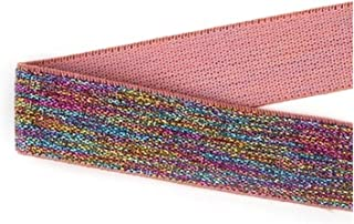 HLWJ Rubber Bands 25mm Multicolor Elastic Bands Waistband for DIY Clothing Bags Shoes Hair's...