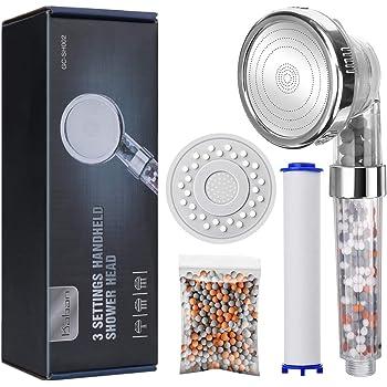 DLPommeau de douche /à haute pression multifonctionnel de DL pommeau universel de douche anti-calcaire pour la salle de bains,