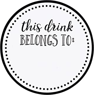 drink labels for parties