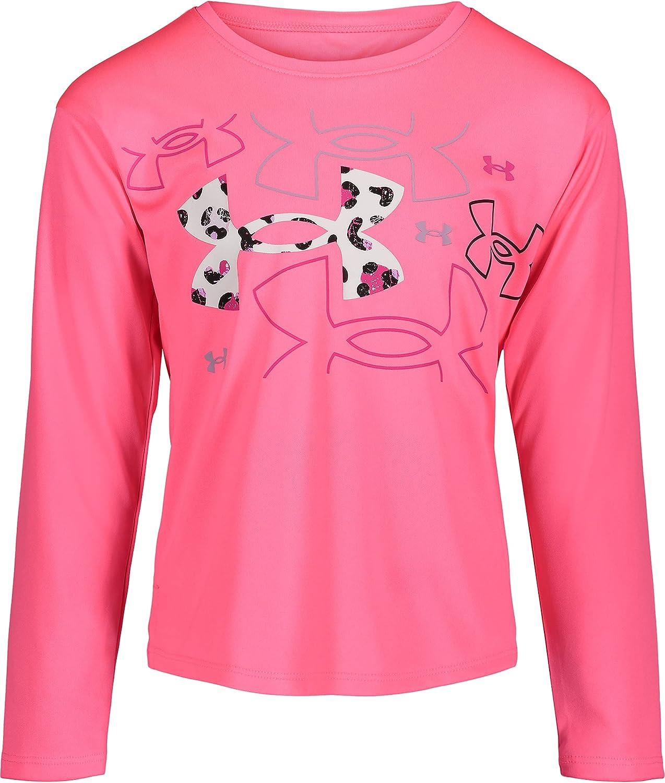 Under Cheap mail order sales Armour Girls' Long Elegant Logo Sleeve Tee