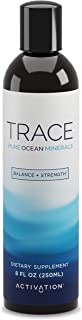 Activation Products Trace Minerals Supplement – Liquid Trace Minerals for Water – Ionic Mineral Drops for Drinking Water – Essential Sea Minerals for Improved Health, 8 Fl. Ounces