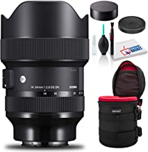 $1299 » Sigma 14-24mm f/2.8 DG DN Art Lens for Leica L Essential Kit with Padded Case