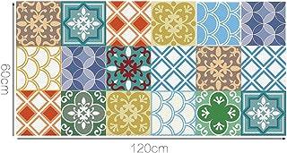 comprar comparacion Alwayspon Azulejos de Vinilo Suelo Sticker, Impermeable Antideslizante Azulejos de la Etiqueta para la Cocina Y Baño 23.6X...
