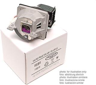 Alda PQ-Premium, Lámpara de proyector compatible con 456-210 para OPTOMA DH1011, EH300, HD131X, HD25, HD25-LV, HD2500, HD30, HD30B Proyectores, lámpara con carcasa