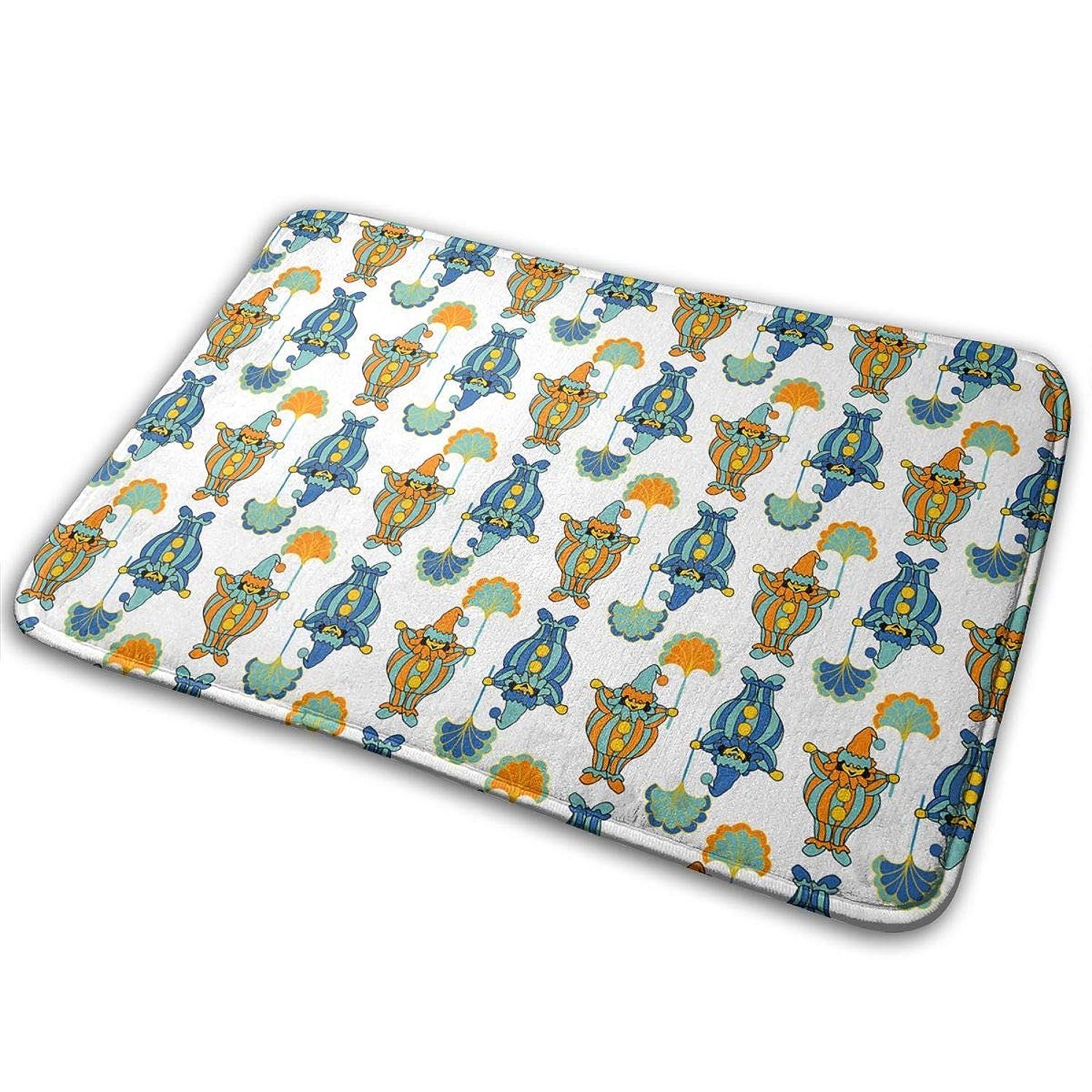 EWFXZq Fat Clown Doormats Anti-Slip House Garden Gate Carpet Door Mat Floor Pads 15.7