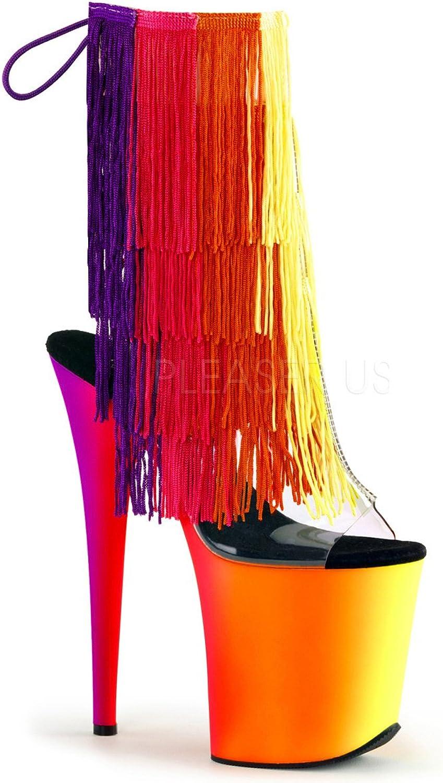 Pleaser kvinnor Rainbow Rainbow Rainbow 1017tf - 8 SyntheStorlekd cheville bottes  online-återförsäljare