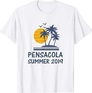 Pensacola Summer 2019 Shirt Florida FL Tourist Souvenir Gift