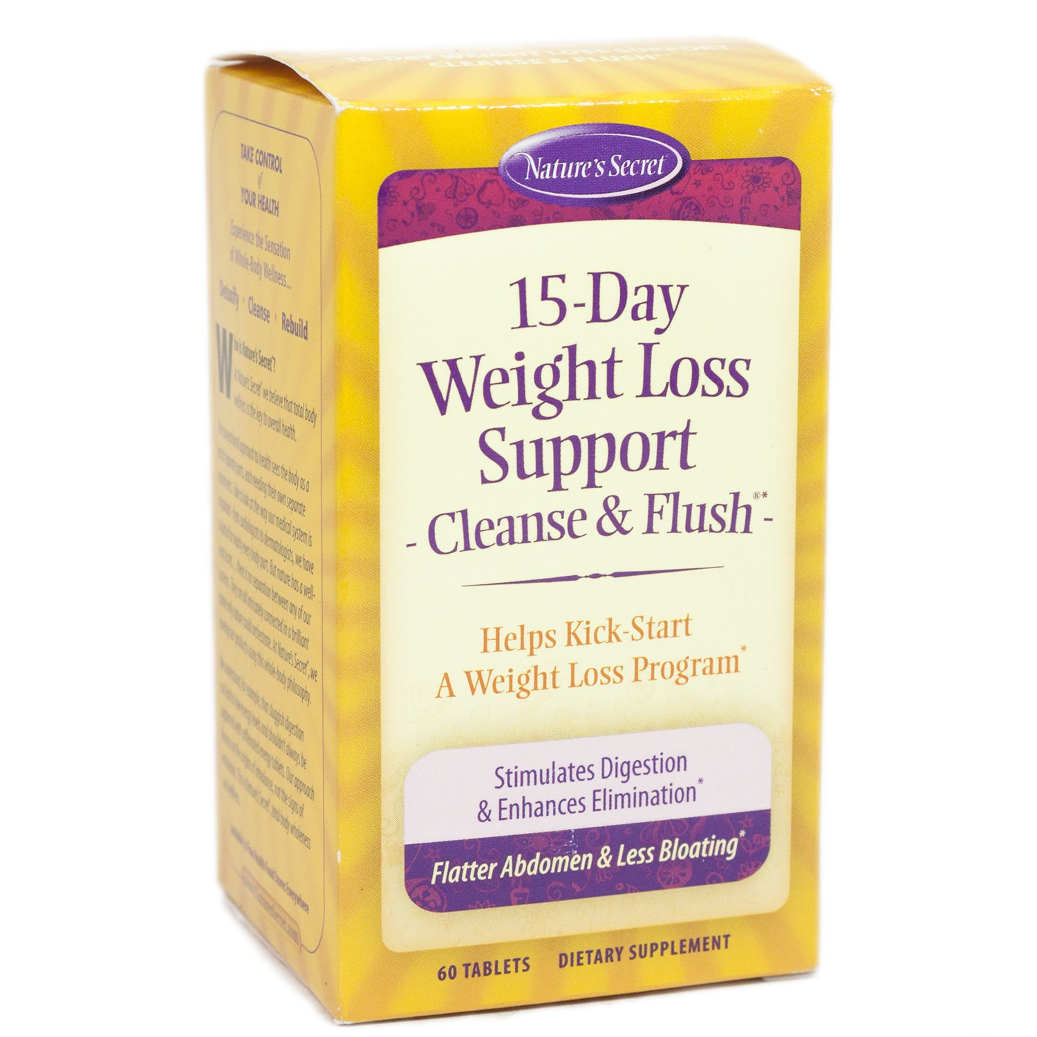 Natures Secret 15 Day Cleanse Tablets