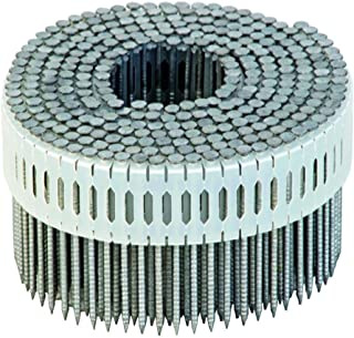 2-1/4 in. x 0.092 Galvanized Ring Shank 0 Degree Plastic Coil Siding Nails (3,600-Pack)