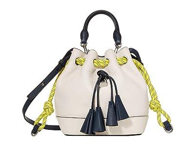 Marc Jacobs Sofia Loves The Drawstring Leather (Cotton Multi) Handbags