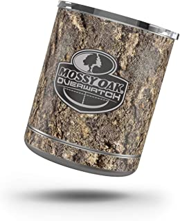 Mossy Oak Overwatch Protector Skin Sticker Compatible with Yeti Rambler 10oz L0wball - Ultra Thin Protective Vinyl Decal wrap Cover