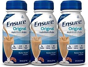 Ensure Original Nutrition Shake, Butter Pecan, 8 ounces, 24 count