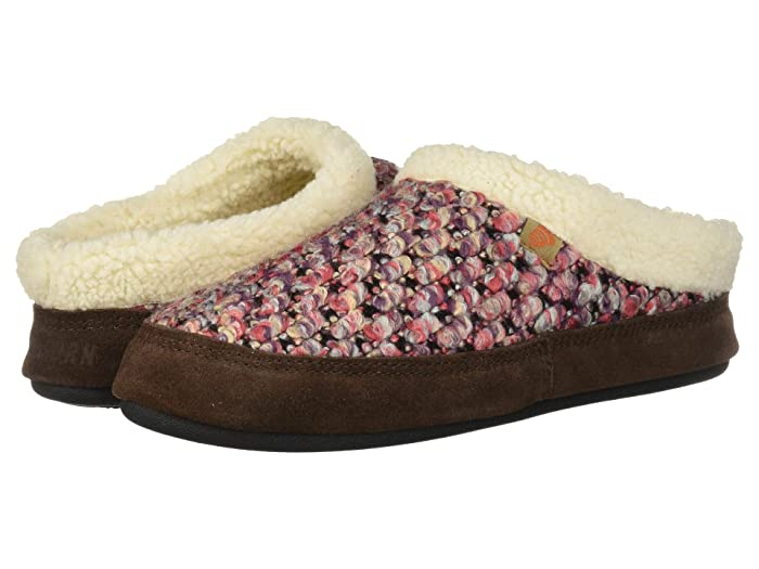 Acorn  Jam Mule (Raspberry) Womens  Shoes