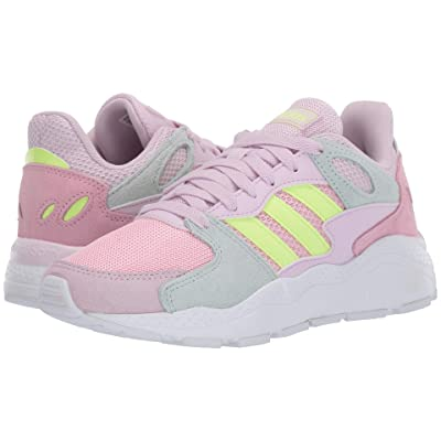 adidas Kids Chaos (Big Kid) (True Pink/Hi-Res Yellow/Ice Mint) Kids Shoes