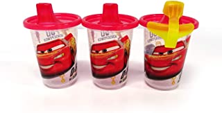 The First Years Disney Take & Toss Sippy, 10 Ounce, 3 Pack Cars