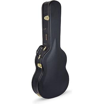 Crossrock casos crw600 C funda rígida de arco superior – Estuche de madera para guitarra acústica con cuerdas de nailon clásica: Amazon.es: Instrumentos musicales