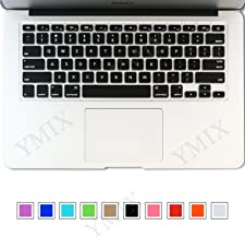 YMIX Silicone Keyboard Cover Soft Gel Water Proof Protective Skin for Old MacBook Pro 13