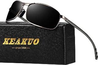 Sport Polarized Sunglasses for men - KEAKUO Mens...