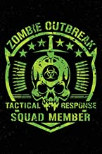Zombie Outbreak: Notebook Journal Tactical Response Squad Member