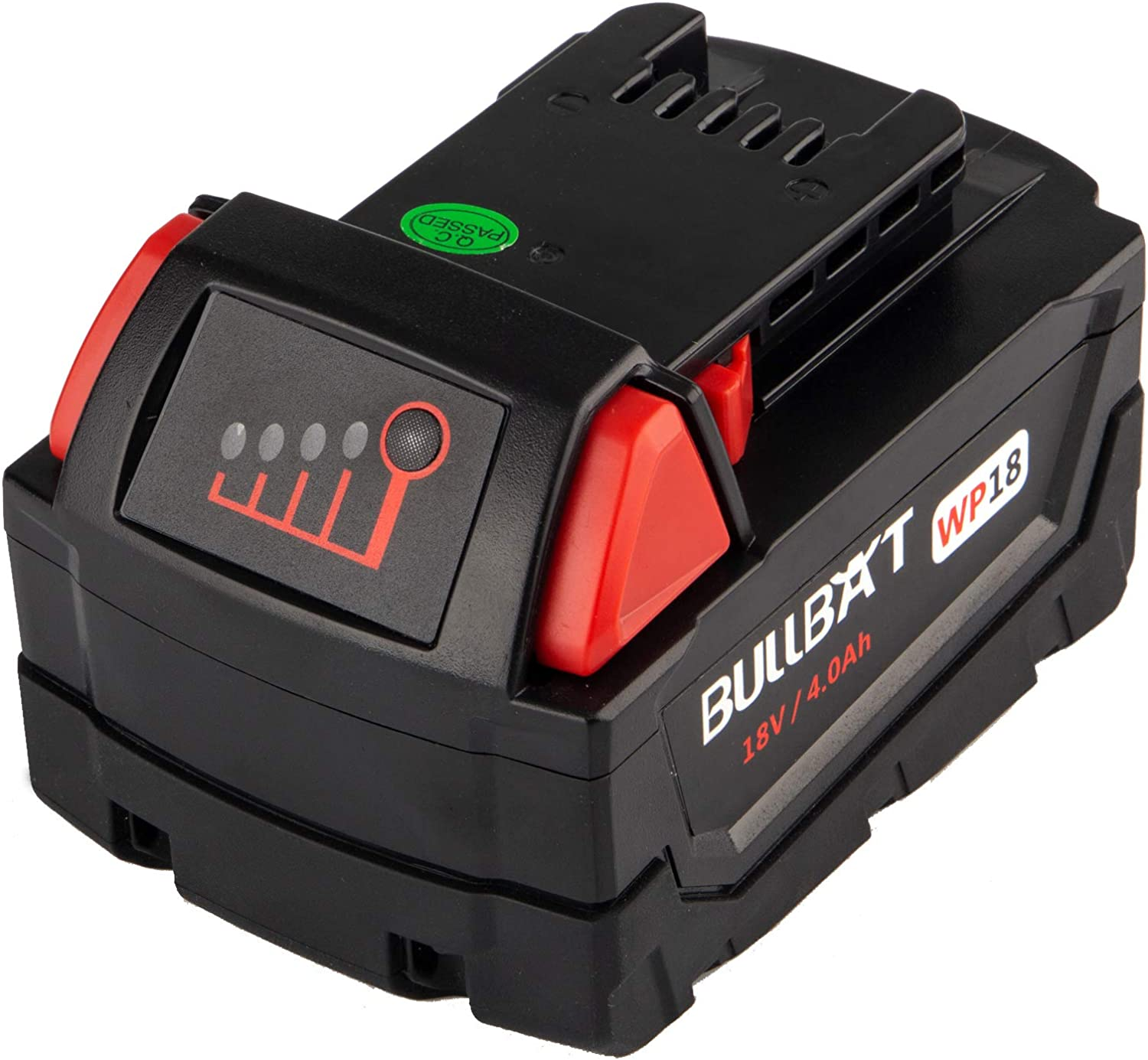 BULLBAT 18 Overseas parallel import regular item Volt MAX 4.0Ah excellence Batter Replacement Battery Lithium for