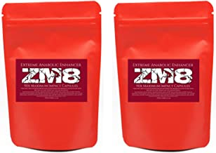 2 x Genuine ZM8 Super Natural Recovery Immune System and Sleep Enhancers Pro Series Enhanced ZMA Capsules not Tablets Estimated Price : £ 13,99