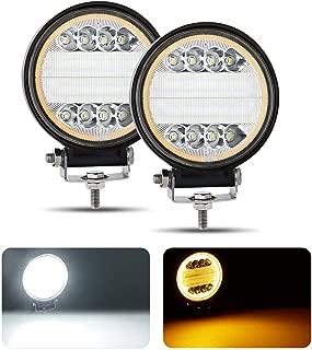 LED Work Light for Truck, AAIWA Round LED Light Pods 4.5