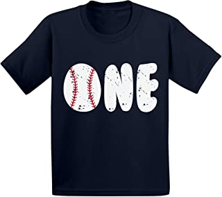 Baseball Birthday Toddler T Shirts Infant T Shirts First Birthday Party Baby