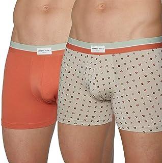 Hommes Coton Boxer Shorts Pantalon Trunks Sous-vêtements Cadeau Saint Valentin Boîte Noir