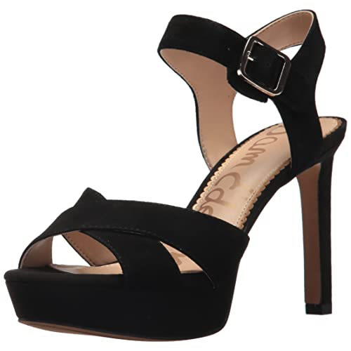 bc4eece0a4d Black Suede High Heels: Amazon.com