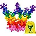 120-Pieces Emido Building Blocks Kids Educational Toys