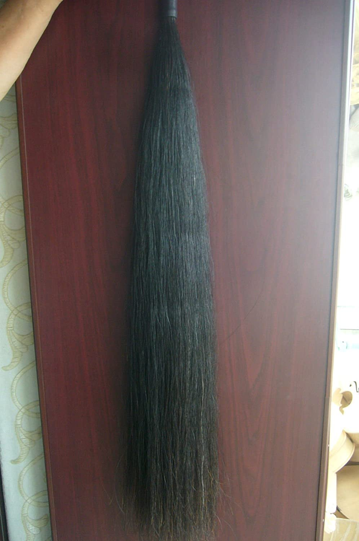 Black Horse Show Tail Hair Extension 7076cm 170grams