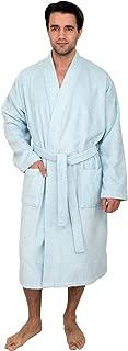 Men's Robe, Soft Cotton Terry Kimono Bathrobe