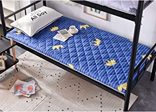 Dorm Mattress,Thicken Sanding Tatami Mattress,Student Bedroom Single Apartment Mattress Soft Thick for Student Dormitory M...