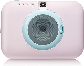 LG PC389P Pocket Photo Snap Instant Camera (Pink)