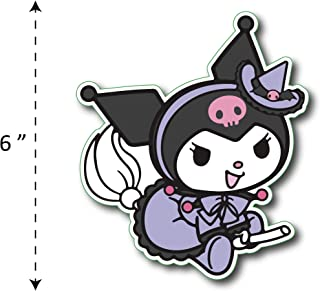 (TK-168) My Melody | Kuromi Maid - Waterproof Vinyl Sticker for Laptops Tablets Cars Motocycles Bicycle Skateboard Luggage Or Any Flat Surface (6