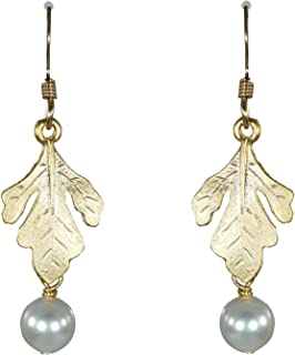 Sosie Designs Golden Oak Leaf Earrings SD-LEAF