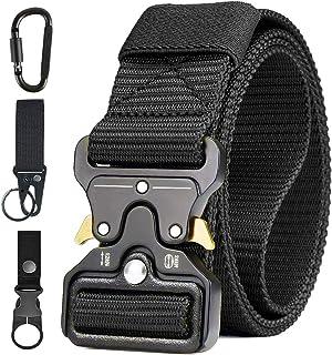 AivaToba Cintura Tattica Uomo Heavy Duty Nylon Cintura Cobra Militare Esercito con Fibbia in Metallo a Sgancio Rapido per ...