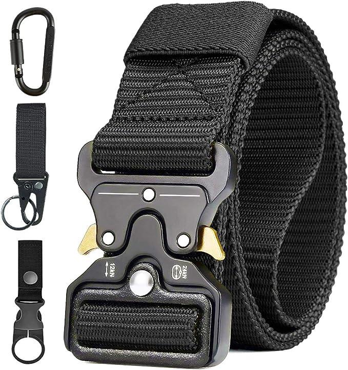 3488 opinioni per AivaToba Cintura Tattica Uomo Heavy Duty Nylon Cintura Militare Esercito con