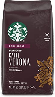Starbucks Dark Roast Whole Bean Coffee — Caffè Verona — 100% Arabica — 1 bag (20 oz.)