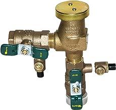 3/4 in Lead Free Anti-Siphon Pressure Vacuum Breaker, Quarter Turn Shutoff, Tee Handles