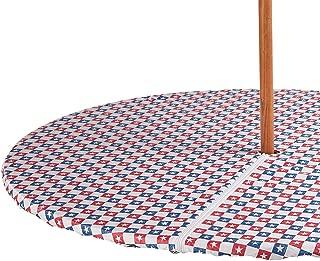 Miles Kimball American Stars Zippered Elasticized Umbrella Table Cover