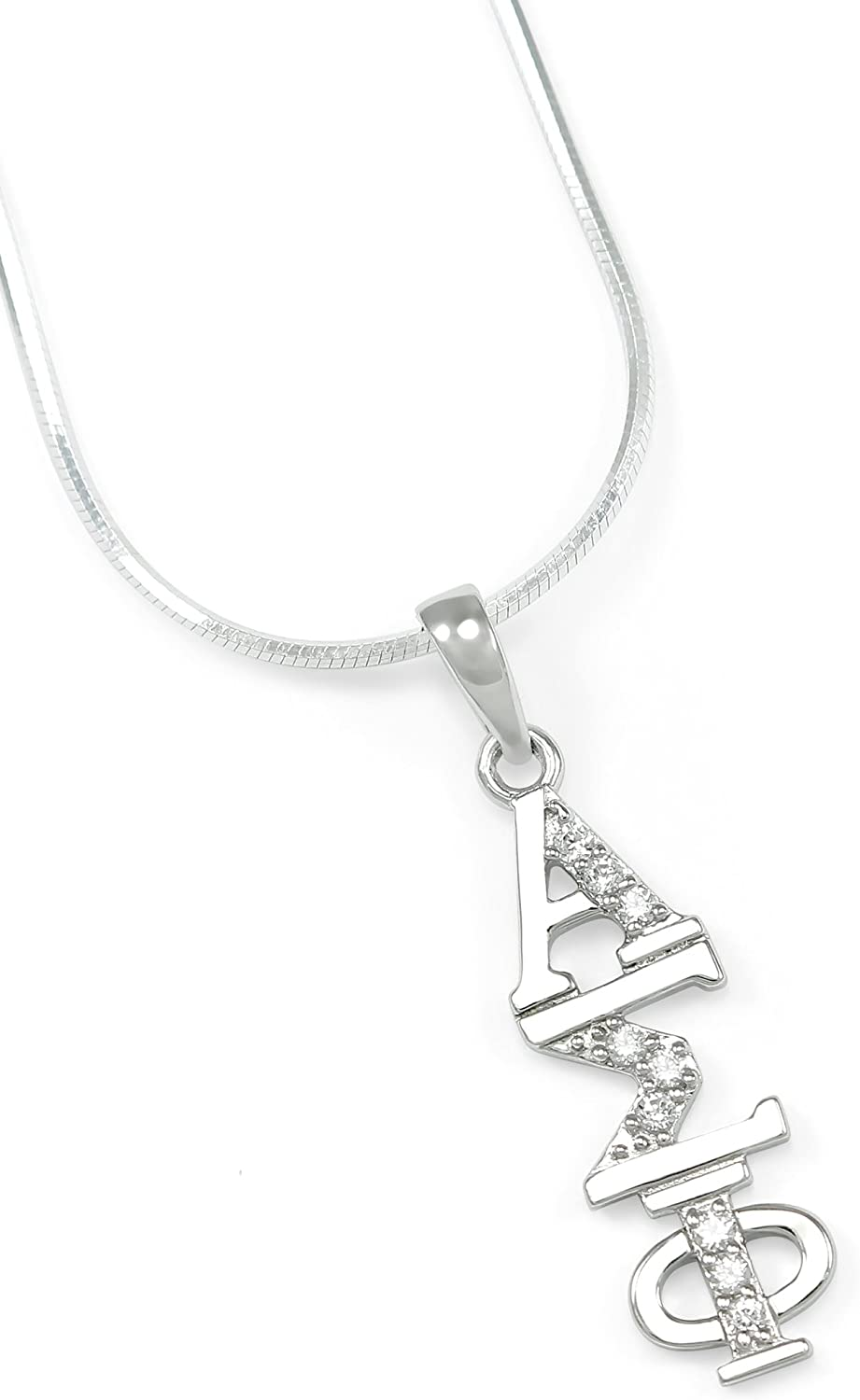 The OFFicial site Collegiate Standard price Alpha Sigma Silver Phi Sterling Lavalier